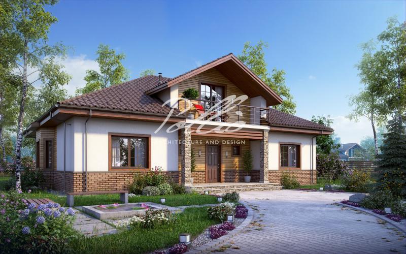 X1. Оптимальный дом с мансардным этажом