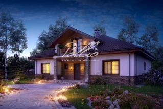 X1 Оптимальный дом с мансардным этажом фото 4