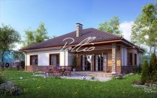 X1 Оптимальный дом с мансардным этажом фото 2