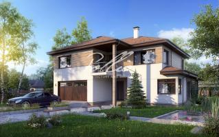 X4 Комфортный двухэтажный дом для современной семьи фото 1