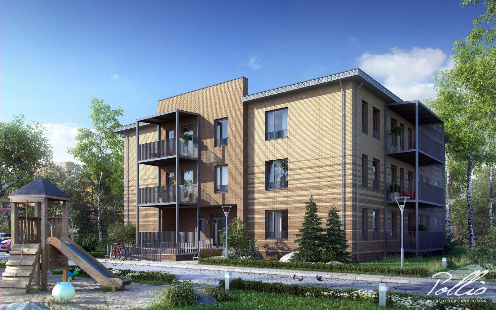 Xb1 Многоквартирный дом с уникальным дизайном фото 1