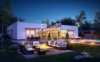 X7 Одноэтажный дом в средиземноморском стиле фото 4