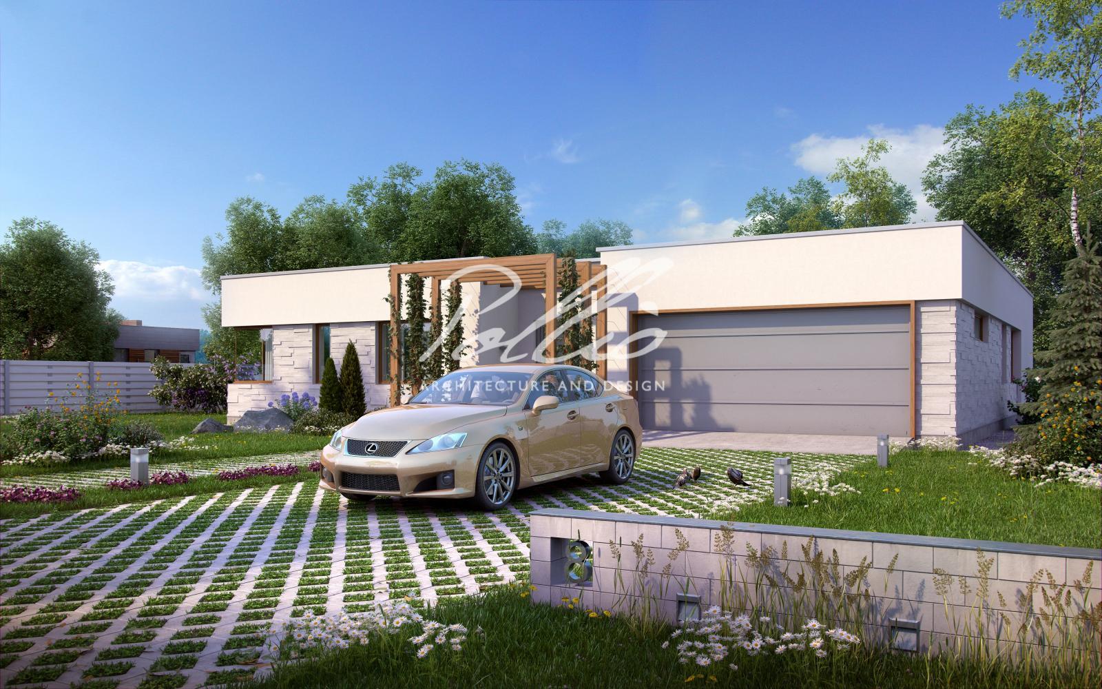 X7 Одноэтажный дом в средиземноморском стиле фото 2