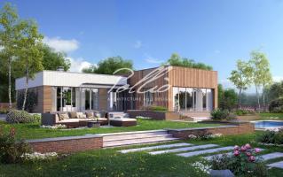 X9 Cовременный проект дома с сауной и джакузи  фото 3