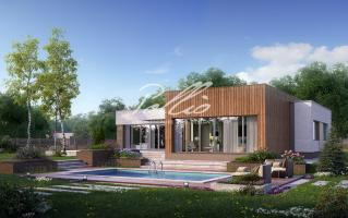 X9 Cовременный проект дома с сауной и джакузи  фото 2