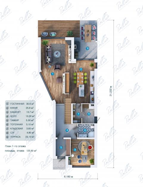 планировки первого этажа проекта X11