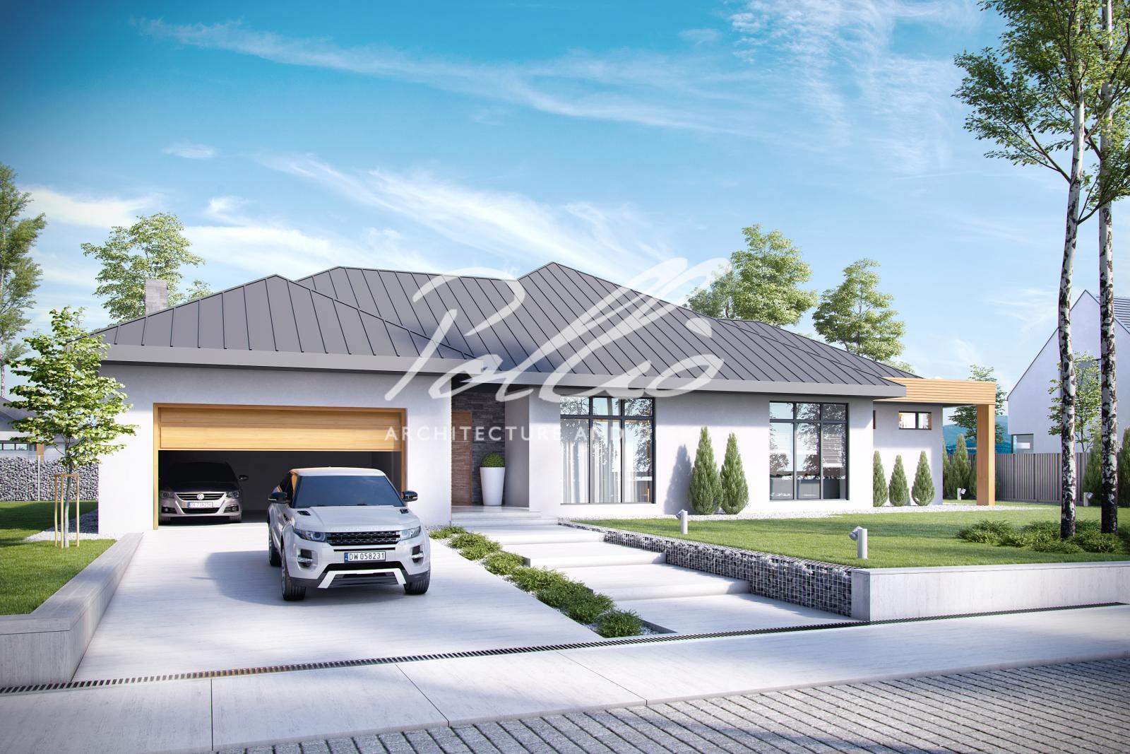 X12 Эксклюзивный проект одноэтажного дома фото 1