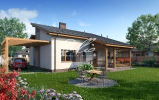 X15 Стильный проект экономного дома фото 3