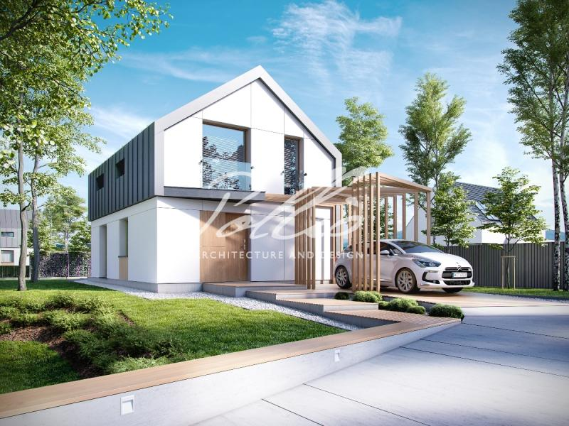 P1. Проект пассивного дома P1
