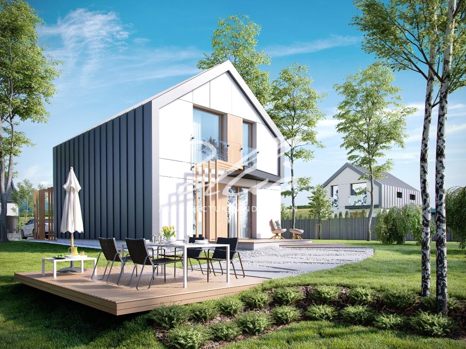 P1 Проект пассивного дома P1 фото 2