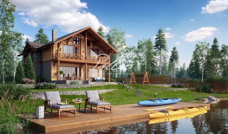X17. Проект деревянного дома