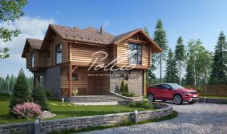 X17 Проект деревянного дома фото 2