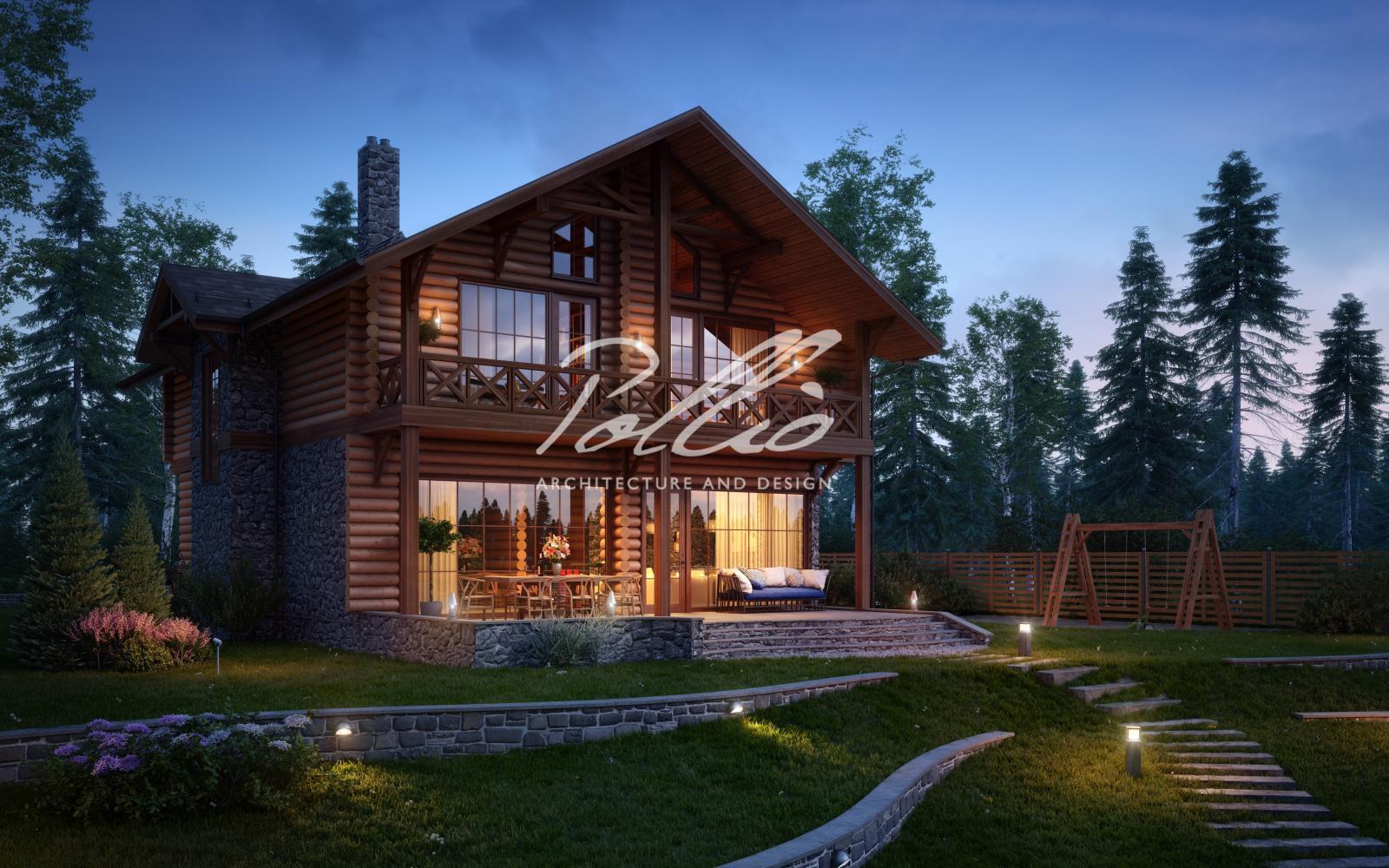 X17 Проект деревянного дома фото 4