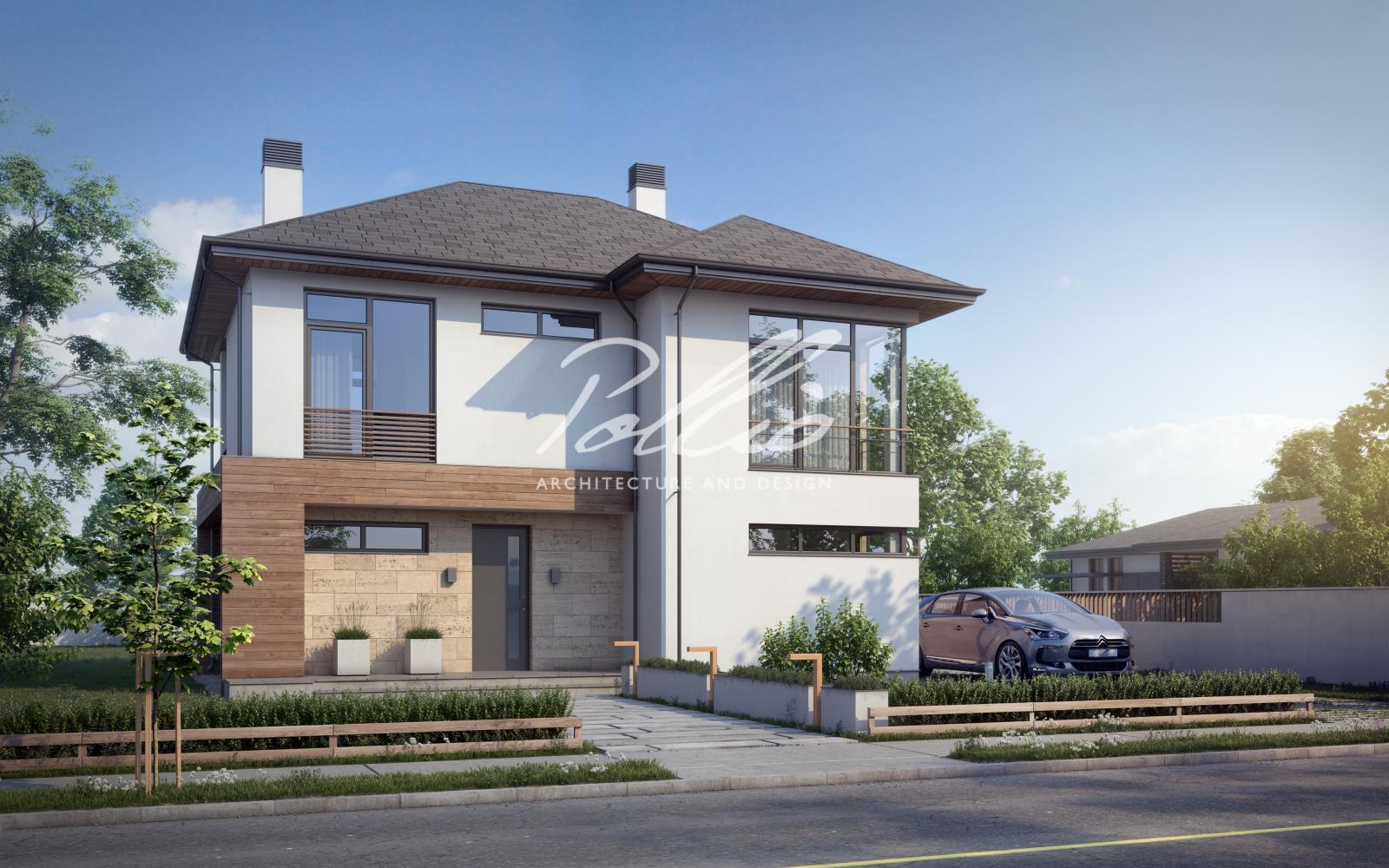 X18 Классический проект двухэтажного дома фото 2