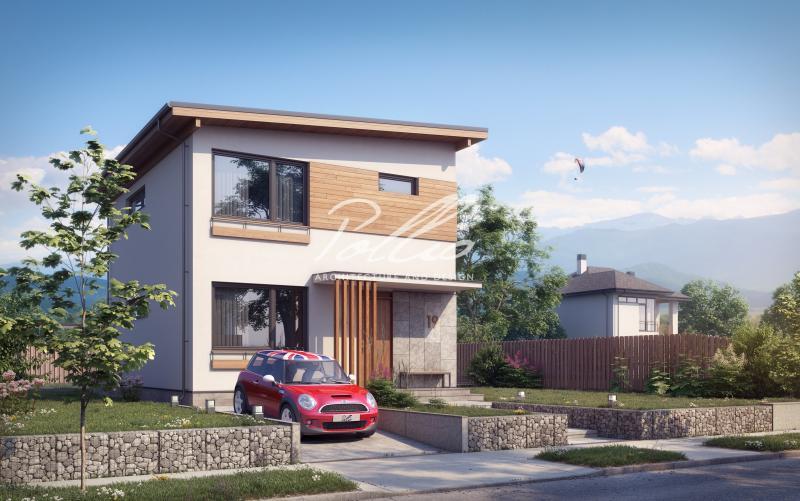 X19. Небольшой и стильный проект двухэтажного дома