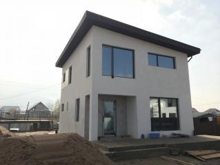 X19 Небольшой и стильный проект двухэтажного дома фото 6