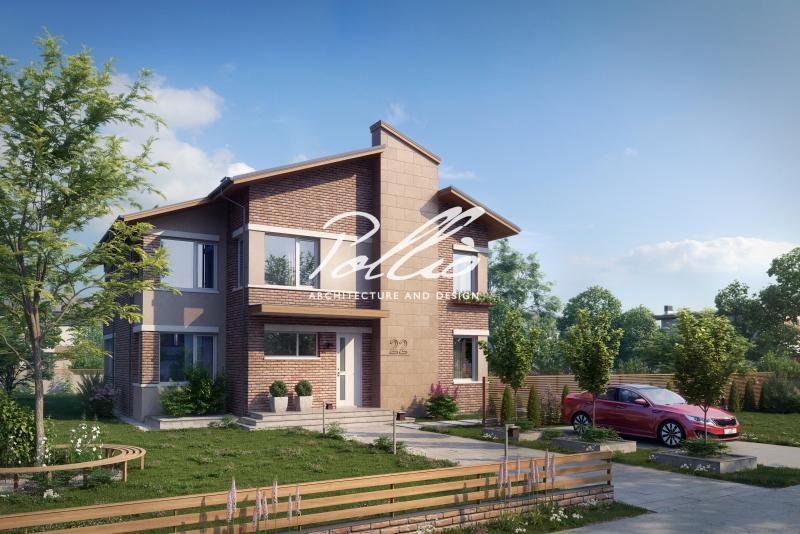 X22. Двухэтажный дом для большой семьи