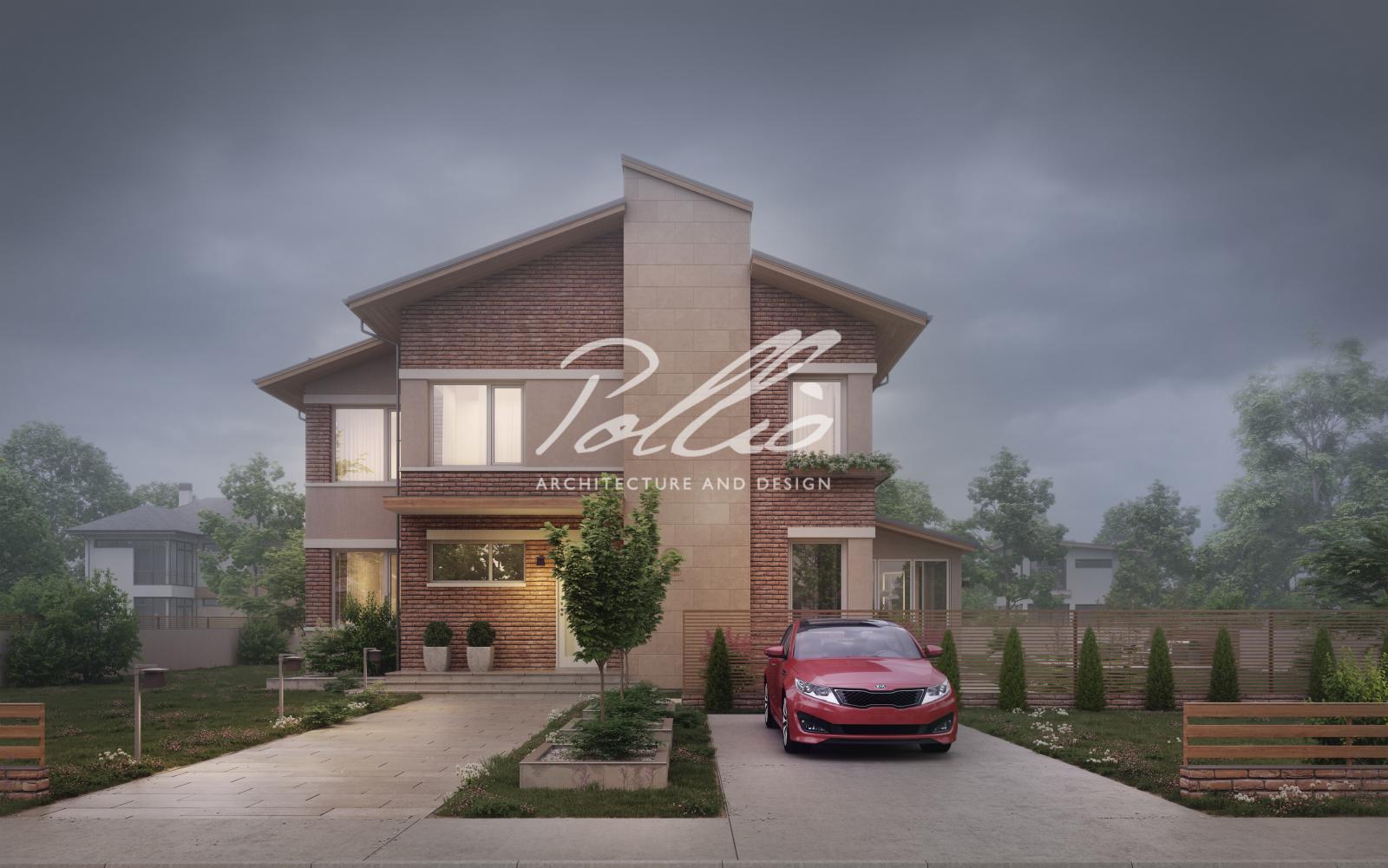 X22 Двухэтажный дом для большой семьи фото 5
