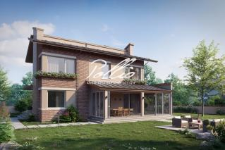 X22 Двухэтажный дом для большой семьи фото 2