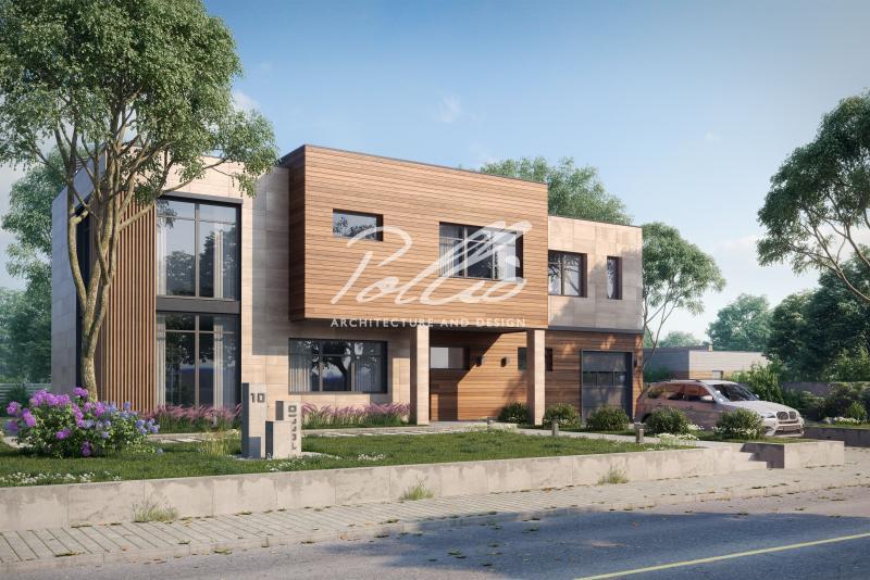 X10a. Проект современного двухэтажного дома