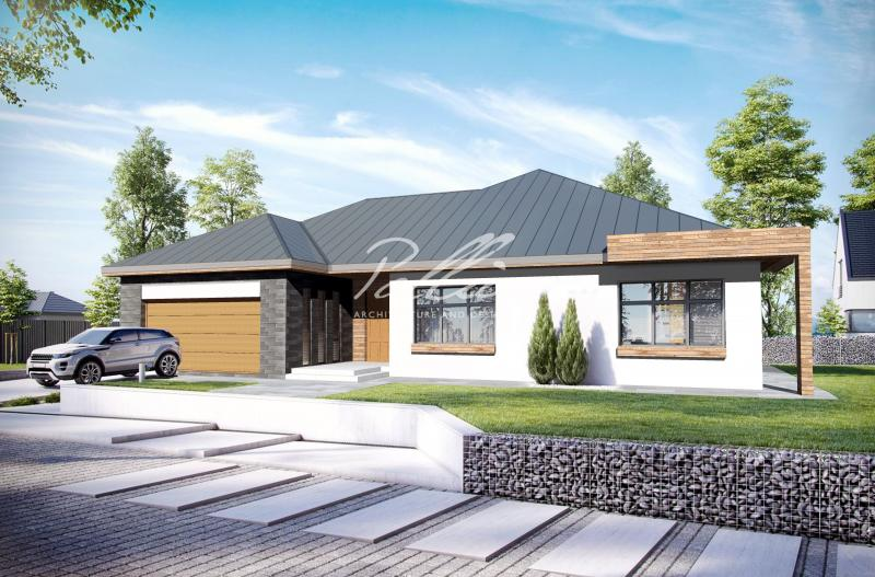 X12a. Уменьшенный вариант лучшего одноэтажного дома