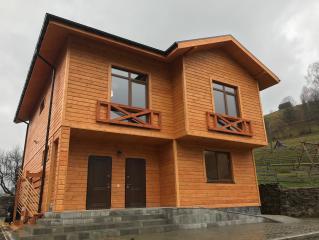 X24 Проект деревянного двухэтажного дома фото 3