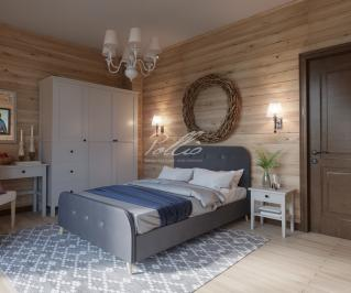 X24 Проект деревянного двухэтажного дома фото 7