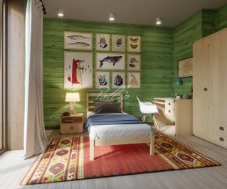 X24 Проект деревянного двухэтажного дома фото 8
