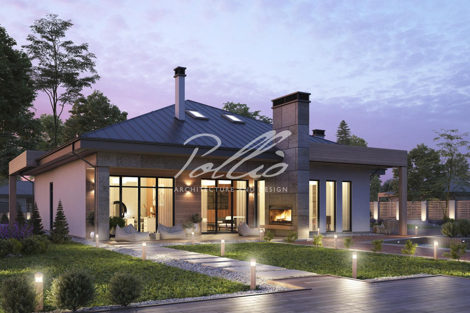 X12b Современный дом для большой семьи фото 4