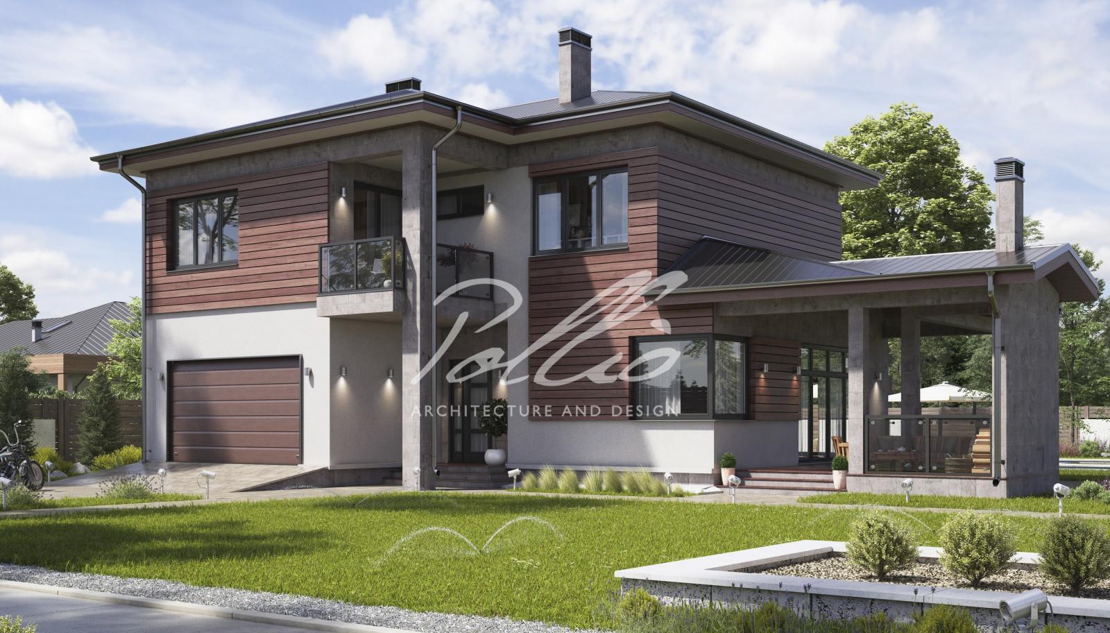 X4a Классический двухэтажный дом фото 2