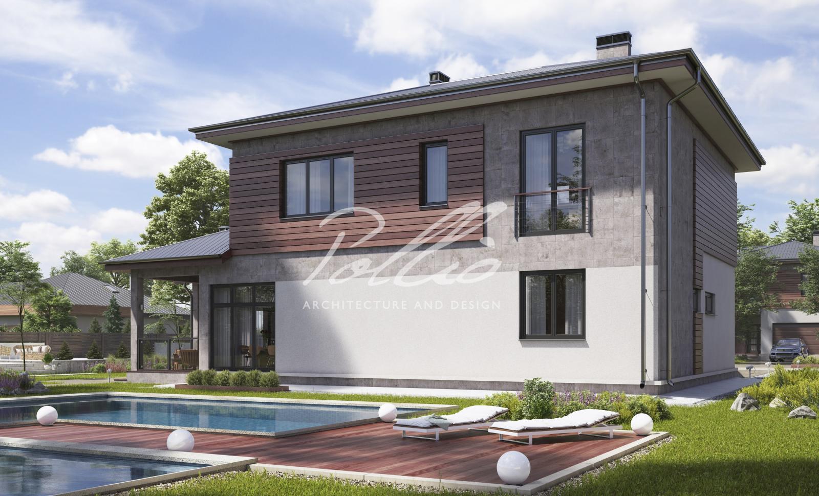 X4a Классический двухэтажный дом фото 3