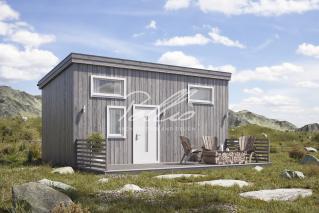 X26 Проект модульного дома фото 1
