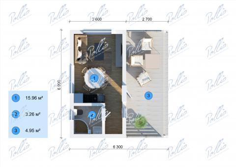 планировки первого этажа проекта X26