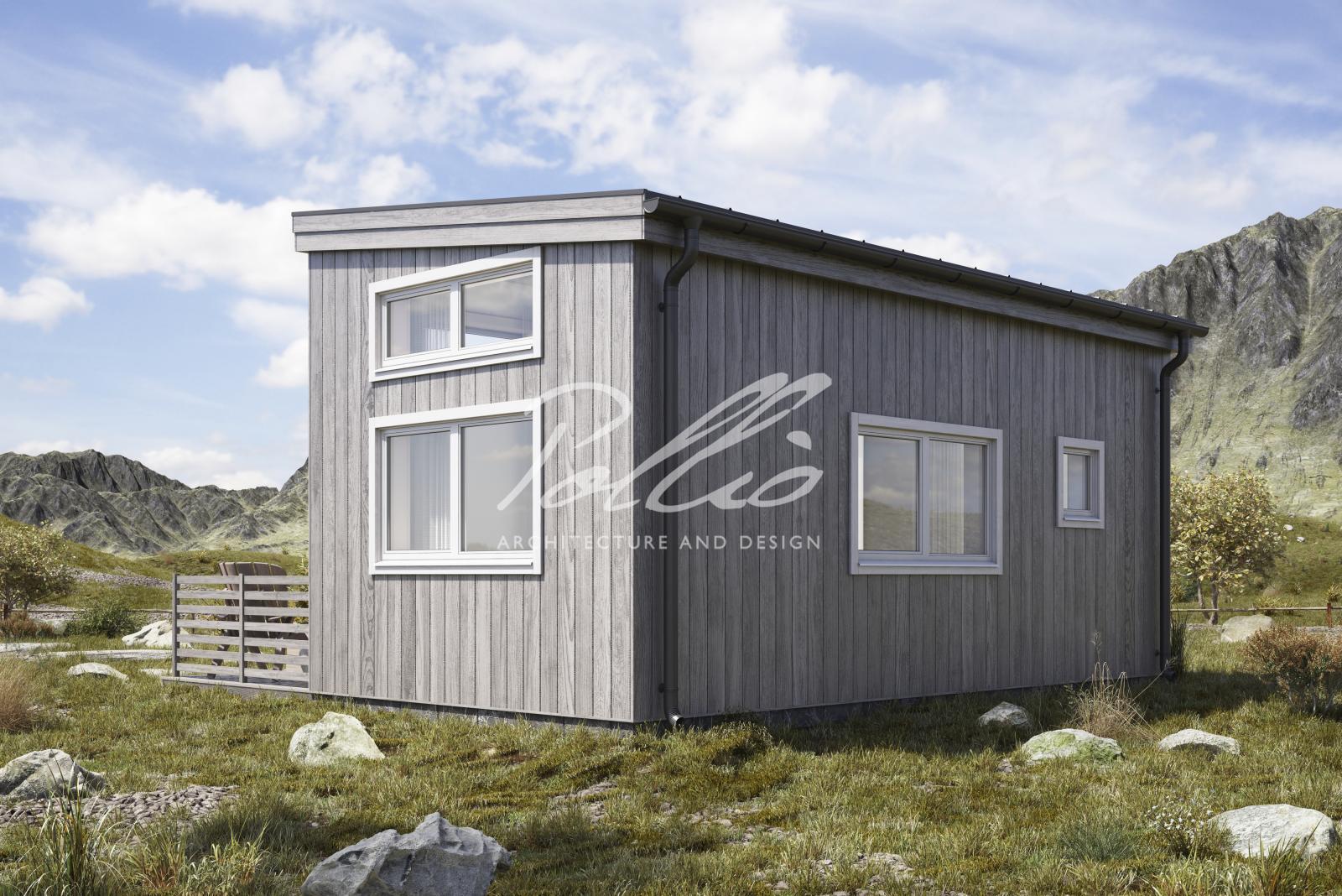 X26 Проект модульного дома фото 2