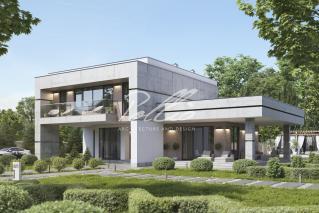 X27. Проект дома в стиле LOFT