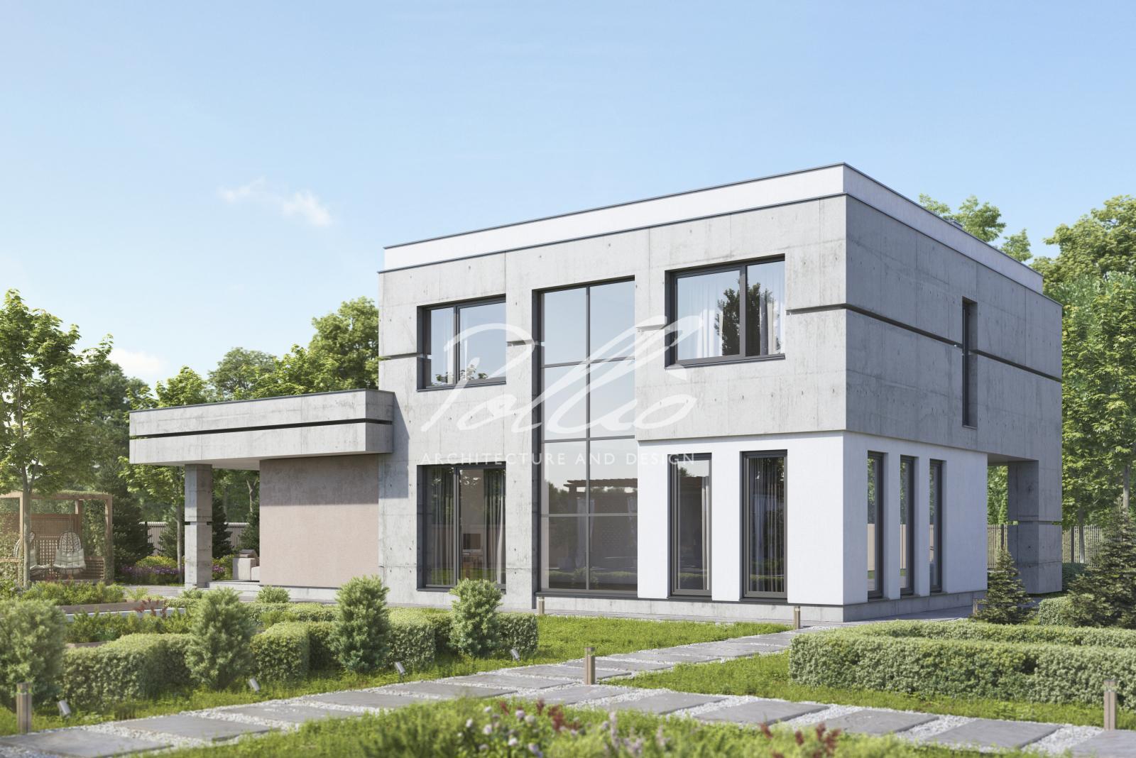 X27 Проект дома в стиле LOFT фото 2