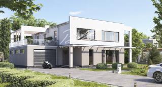 X29 Двухэтажный дом с плоской кровлей фото 1