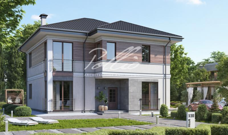 X30. Проект двухэтажного дома