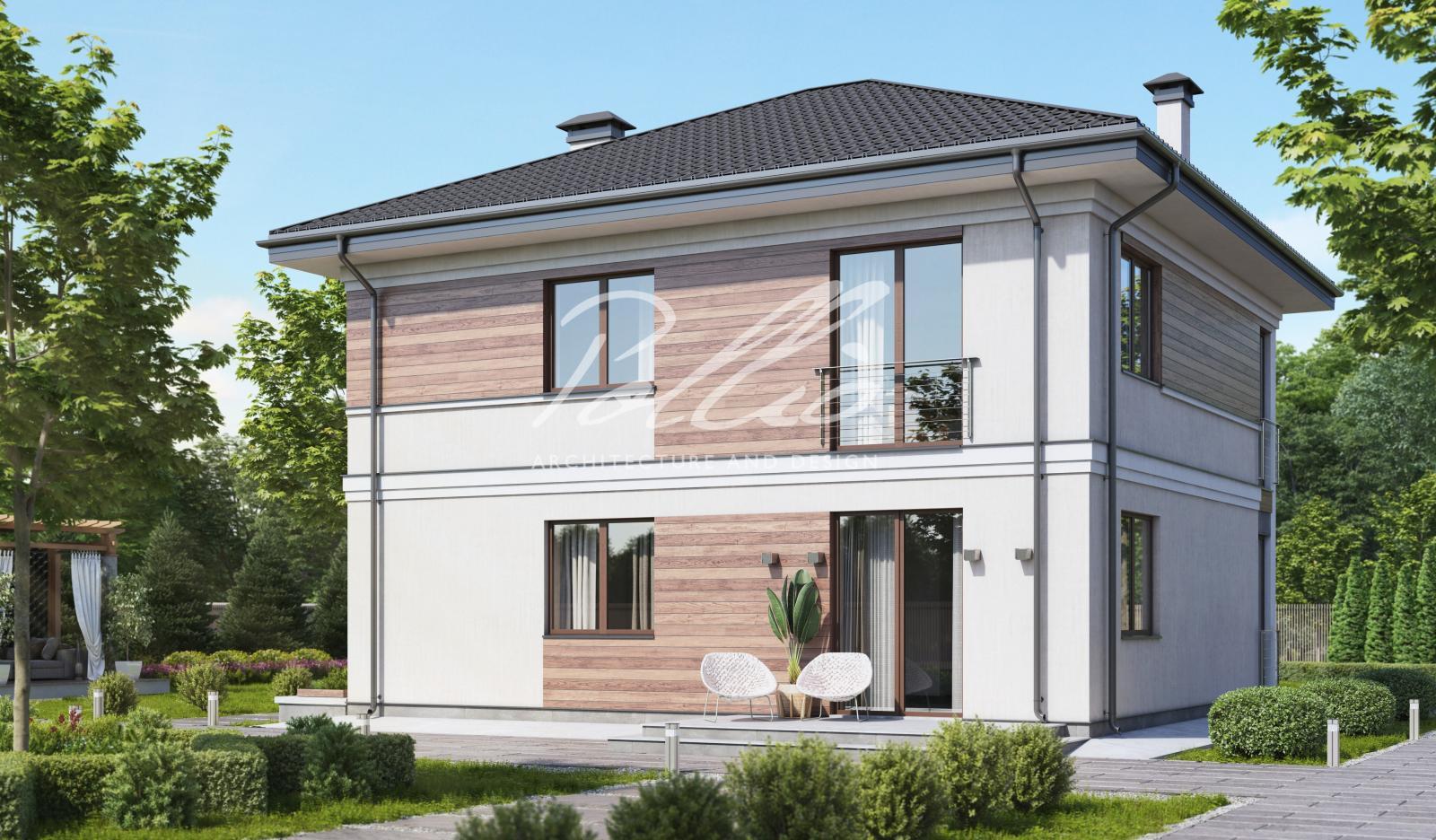 X30 Проект двухэтажного дома фото 2