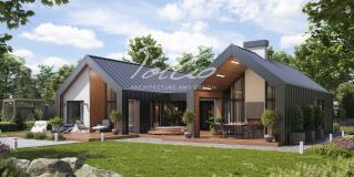 X35 Современный дом в скандинавском стиле фото 1