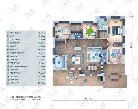 планировки первого этажа проекта X37