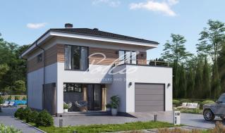 X38 Европейский проект двухэтажного дома фото 1