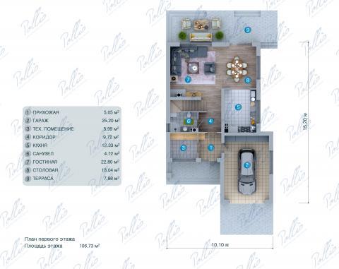 планировки первого этажа проекта X38